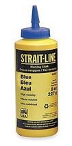 IRWIN Tools STRAIT-LINE 64901 Standard Marking Chalk 8-ounce Blue 64901 - $13.84