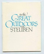 Steuben Glass Catalog In The Great Outdoors with Price List & Order Form... - $17.82