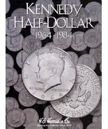 Kennedy Half Dollar Coin Folder Album #1, 1964-1984 by H.E. Harris - $5.99