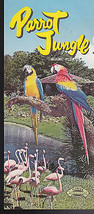 Parrot Jungle brochure- Miami Florida  1960s - $10.02