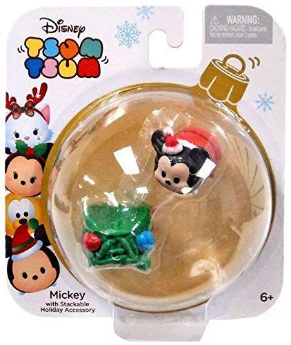 Jakks Pacific - Disney Tsum Tsum Holiday Figure Pack - MICKEY MOUSE w/Lights
