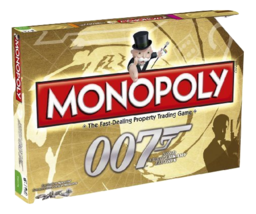 James Bond Monopoly 50th Anniversary A Collector's Item Board Game - $53.99