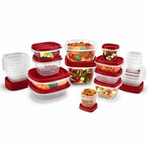 Rubbermaid NEW 42/62 Piece Vented Lids Food Storage Container, Stove, Bowl, Dine - $34.95