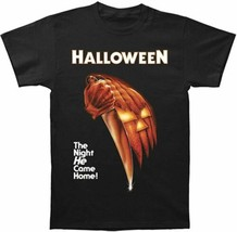 Halloween Movie The Night He Came Home! Knife and Pumpkin T-Shirt NEW UN... - $17.41+
