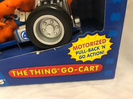 Marvel Spider-Man & Friends The Thing You Go- Cart Motorized Pull Back Go Action image 4