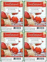 Scentsationals Strawberries & Cream Scented Wax Cubes - 4-Pack - $15.90