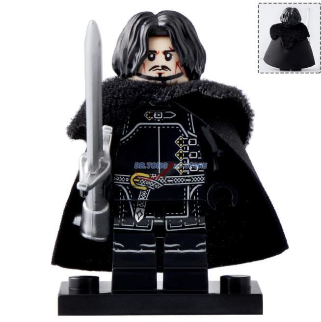 Jon Snow Game of Thrones (season 8) Lego Minifigures Block Toy Gifts