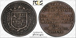 1659-hs Germania Brunswick-Luneburg 1/8 Thaler PCGS Xf40 Lotto #G015 Ann - $1,198.18