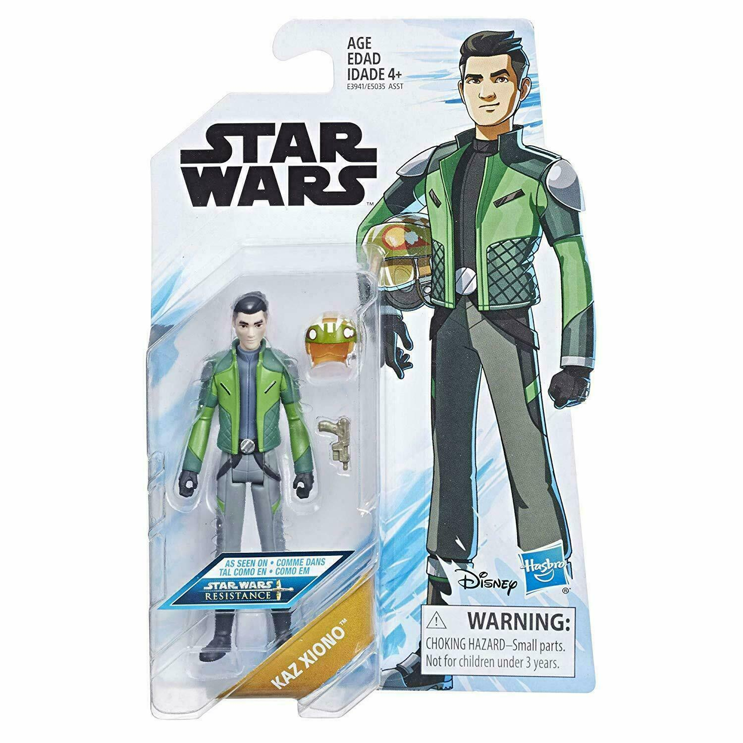 "Star Wars Resistance Animated Kaz Xiono 3 3/4"" Action Figure"