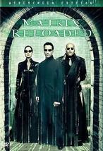 The Matrix Reloaded (DVD, 2003, 2-Disc Set, Widescreen) - $3.63