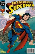 The Adventures of Superman #505 Newsstand Cover (1987-2006) DC - $3.49