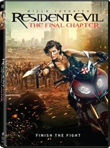 Resident Evil: The Final Chapter [2017, DVD]