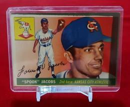 1955 Topps Set Break # 61 Spook Jacobs (low grade) - $1.00