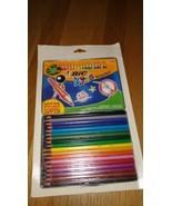 BIC Kids Evolution Coloring Pencils in Assorted Colors Packs of 18 metal... - $9.90