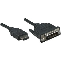 Manhattan 372503 HDMI to DVI-D Cable, 6ft - $21.43