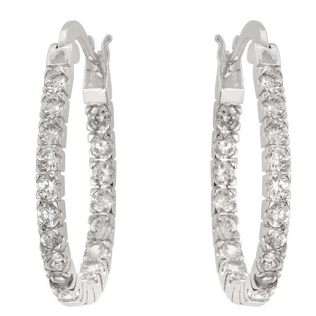 Inside-Out Hoop Earrings - $29.00