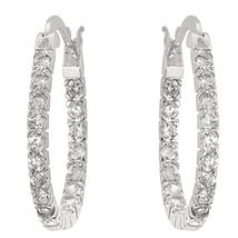 Inside-Out Hoop Earrings - $29.00