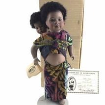 Ndeko Zaire Doll Cherished Customs Series Wendy Lawton Limited Edition P... - $69.78