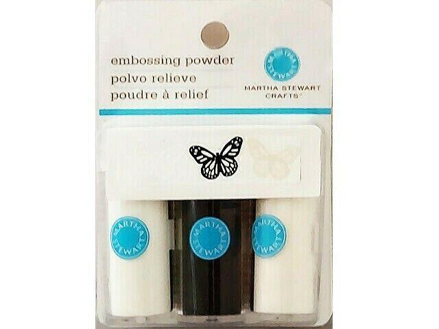 Martha Stewart Crafts Embossing Powder Trio #M338006