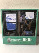 Big Ben Three Windows 1000 Piece Jigsaw Puzzle Vintage 1997  MB SEALED - $16.78