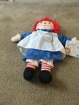Vintage Raggedy Ann & Andy Classic Doll Raggedy Ann Girl Doll Ages 1 1/2... - $122.40