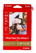 Canon Photo Pixma Paper Plus Glossy II 10x15 cm 4x6 in 260 g/m2 50 sheets PP-201 - $9.49