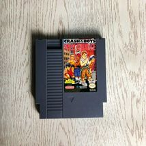 Crash 'n the Boys Street Challenge  - Video Game NES for NTSC US Console - $32.00