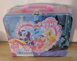 My Little Pony FIM Crystal Empire 48 Pc. Puzzle in Tin Lunchbox Box with... - $10.00