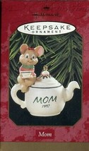 1997 New in Box - Hallmark Keepsake Christmas Ornament - Mom - $4.94