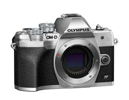 Olympus OM-D E-M10 Mark IV 20.3MP Mirrorless Camera - Silver (Body Only) - $699.99