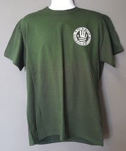 Military Law Enforcement Fire EMS Made in USA Flag Hand Green Morale T-S... - $24.74+