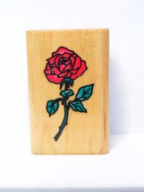 Comotion Rubber Stamps Rose Rubber Stamp-#273 - $6.99