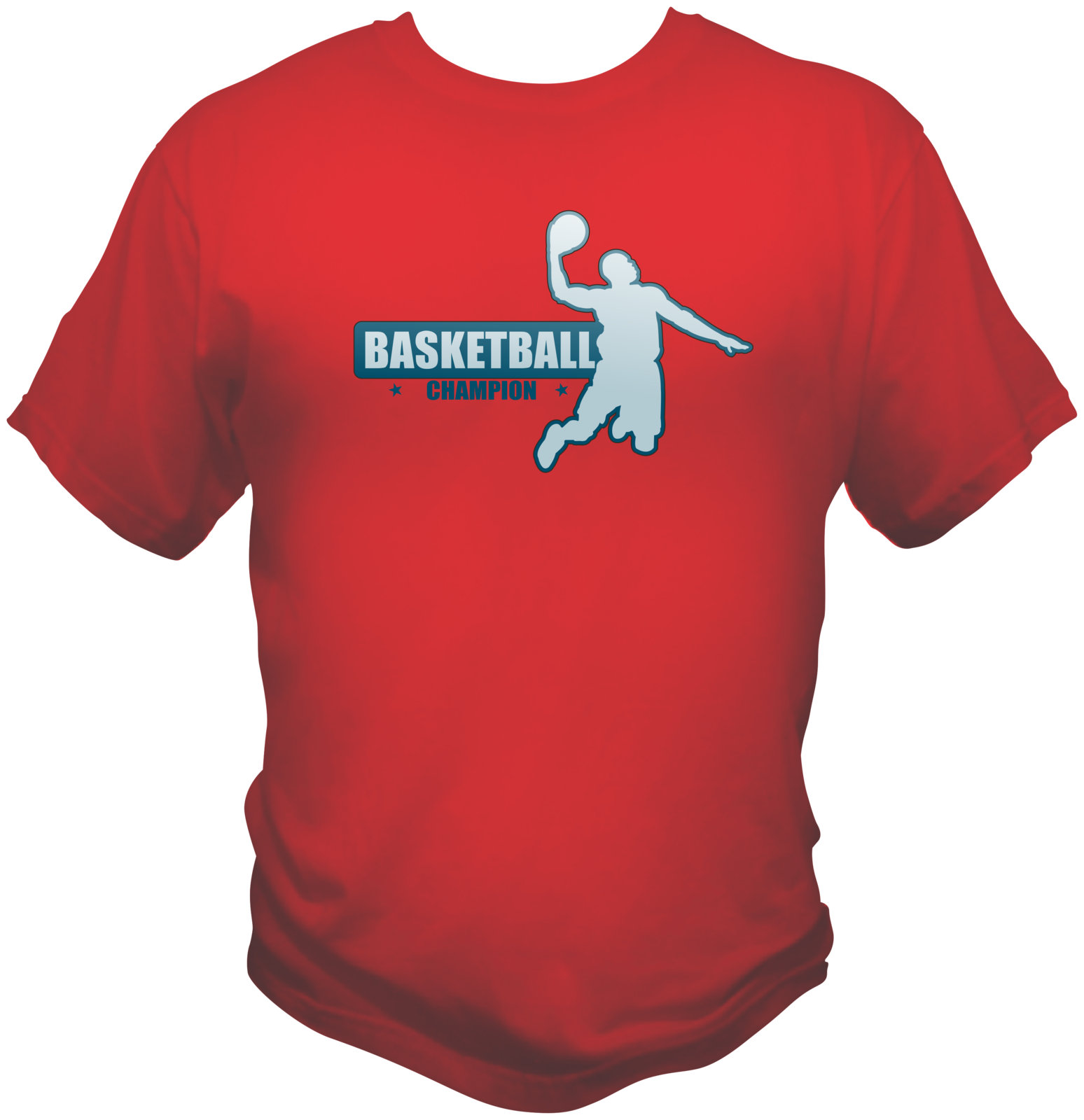 Basketball champion red