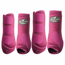 Large Professional Choice  Elite Sports Medicine Horse Leg Boots 4 Pack ... - $154.43