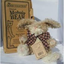 Boyds Bears Mohair Bunny Rabbit EDITH Q. HARINGTON Jointed Collectible Original - $22.72