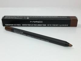MAC Powerpoint Eye Pencil Crayon full sz Bountiful Brown New In Box - $24.73