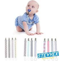 4PCS/SET Infant Pacifier Clips Holder Clip Nursing Teether Clip Nipple H... - $19.99