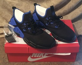 Nike Air Huarache Drift Black/Lyon Blue Men's 10.5 - NWT - $250.00