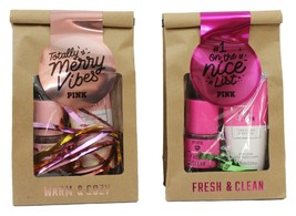 Victorias Secret PINK Body Mist & Lotion gift set, Fresh Clean OR Warm Cozy - $13.81+