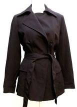 Anne Klein Women's Jacket Size 14 Coat Buttoned Anne Black Retail Price ... - $39.11