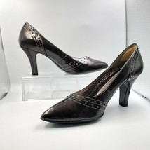 "NWOT Sofft Brown Patent Leather 3"" Heels Sz 8.5 M - $34.65"