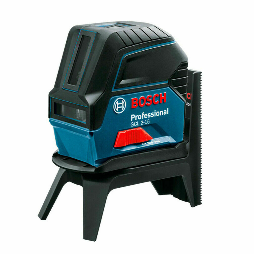 Bosch GCL 2-15 Professional Digital Cross Line Laser Level Compact Self Leveling