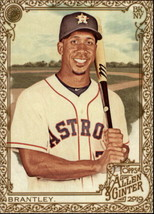 2019 Topps Allen and Ginter Gold Hot Box #218 Michael Brantley Astros - $3.49