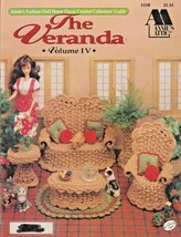 "Annie's Attic Leaflet ""The Veranda"" Crochet Fashion Doll Decor - Gently Used - $6.00"