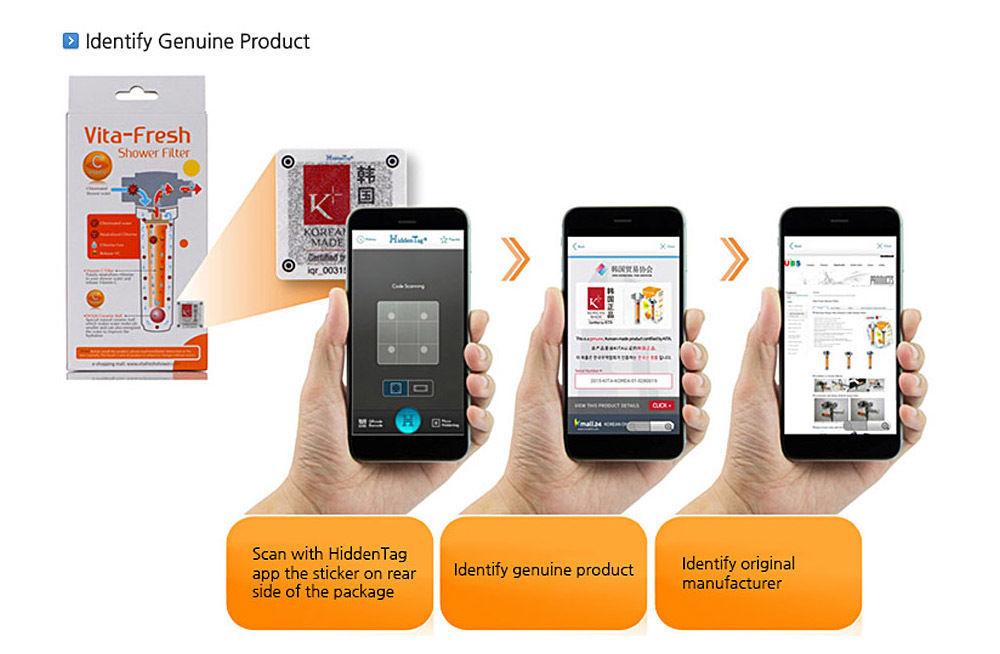 Vitamin C Inline Shower Filter with Filter Cartridge  Vita Fresh Shower Filter