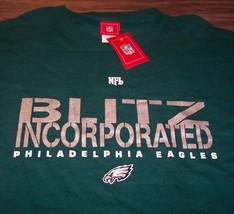 Philadelphia Eagles Blitz Incorporated Nfl Football T-Shirt Xl Mens New w/ Tag - $19.80