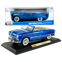 Maisto Special Edition 1:18 Scale Die Cast Car - Blue Classic Roadster 1949 FORD - $49.99