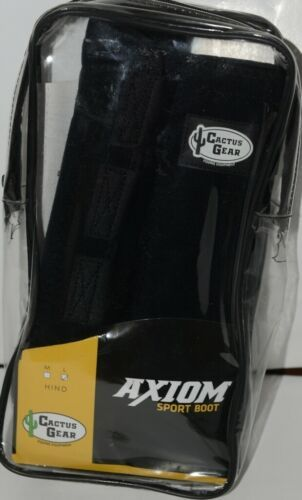 Cactus Gear Equine Equipment Large Hind Black Axiom Sport Boots Package 1 Pair