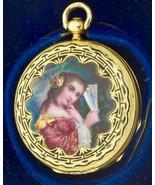 WOW! Rare Chinese Qing Dynasty 18k gold&enamel pocket watch by Eardley N... - $6,000.00