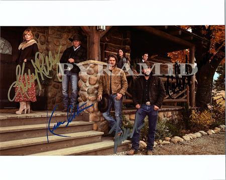 Primary image for YELLOWSTONE TV Series CAST Autographed Signed  8x10 Photo w/COA -6256
